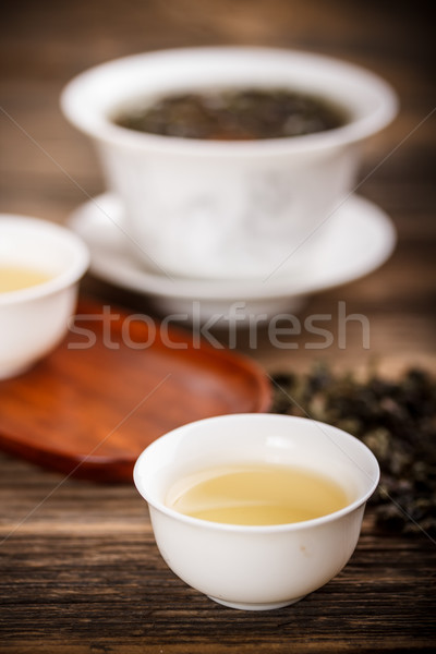 Chinese lidded bowl  Stock photo © grafvision
