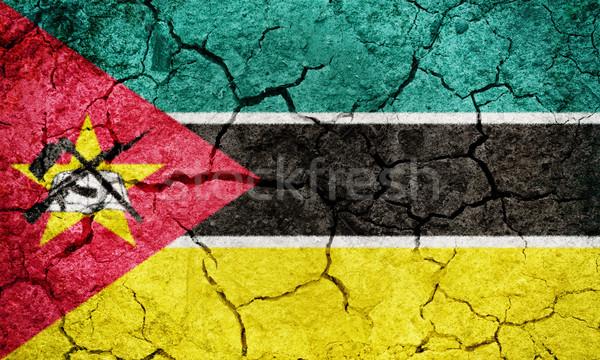 Republic of Mozambique flag Stock photo © grafvision