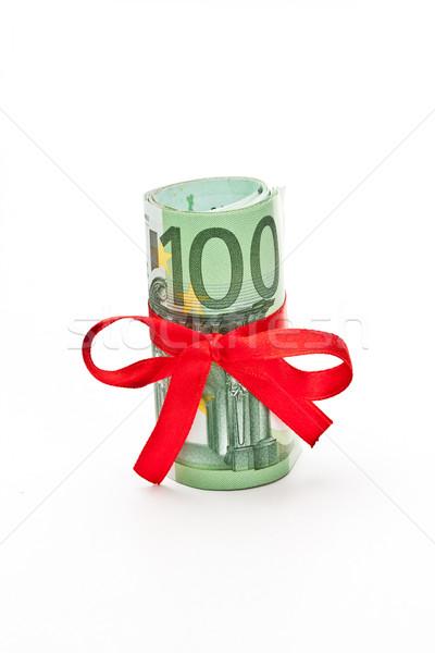 Roll of Euro money Stock photo © grafvision