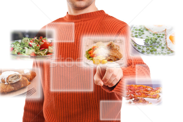 selecting images Stock photo © grafvision