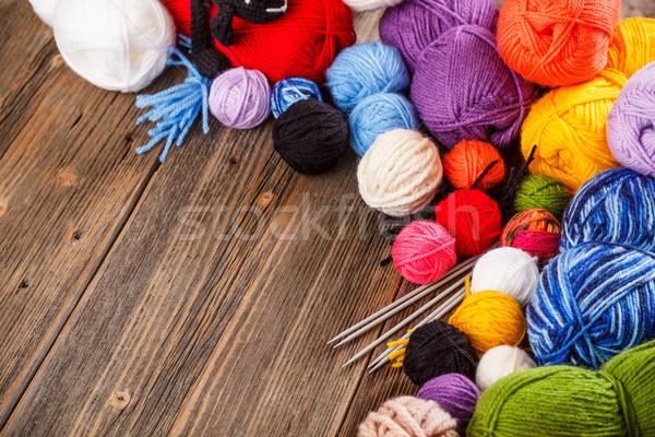 Ball of yarn Stock photo © grafvision