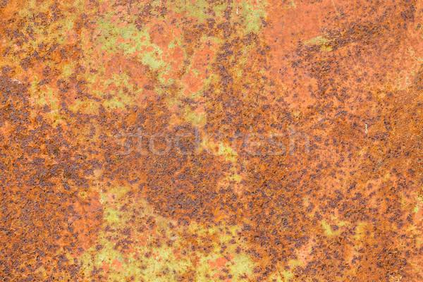 Ruggine superficie metallica abstract texture muro Foto d'archivio © grafvision