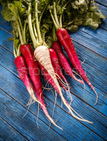 Bunch of fresh radish  Stock photo © grafvision
