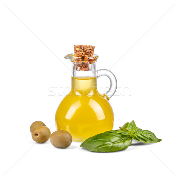Bottle with olive oil Stock photo © grafvision