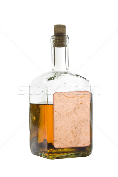Antique bottle of spirits Stock photo © grafvision