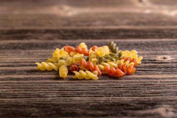 Pasta fusilli Stock photo © grafvision