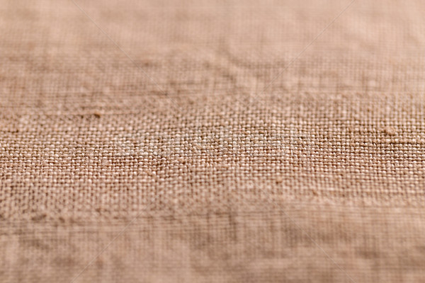 Brown sheer textured cloth Stock photo © grafvision