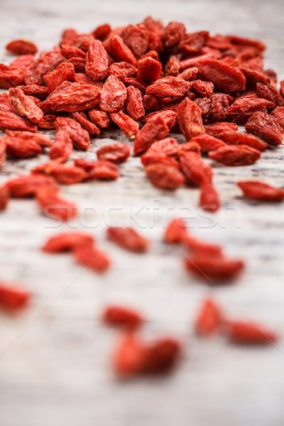 Goji berries Stock photo © grafvision