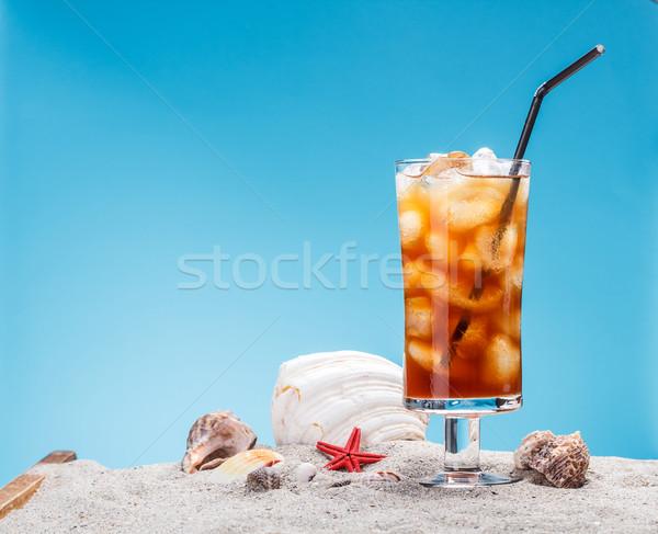 Still life of ice tea Stock photo © grafvision