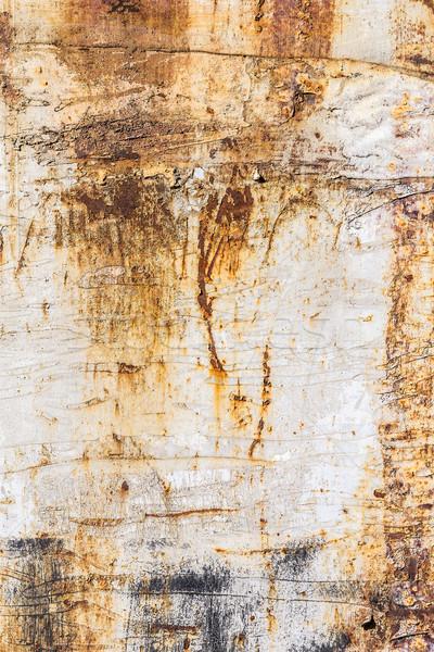 Arrugginito giallo superficie metallica texture muro metal Foto d'archivio © grafvision