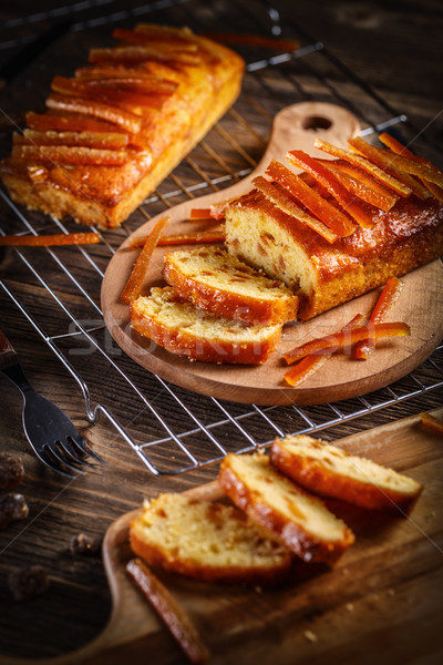 Delicious fruit loaves of bread Stock photo © grafvision