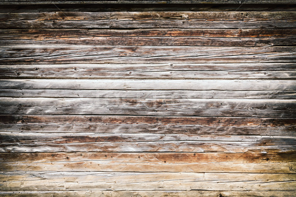 Grunge ahşap doku yatay ahşap Stok fotoğraf © grafvision