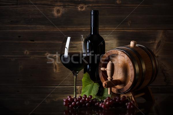 Red wine Stock photo © grafvision