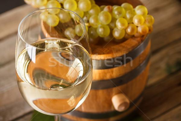 White wine in goblet  Stock photo © grafvision