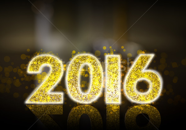 Happy New Year 2016 Stock photo © grafvision