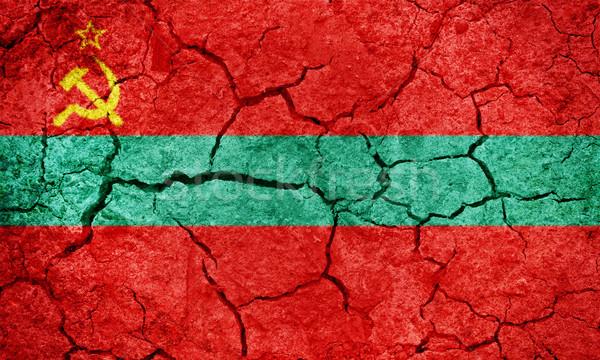 Egység zászló adminisztratív Moldova száraz Föld Stock fotó © grafvision