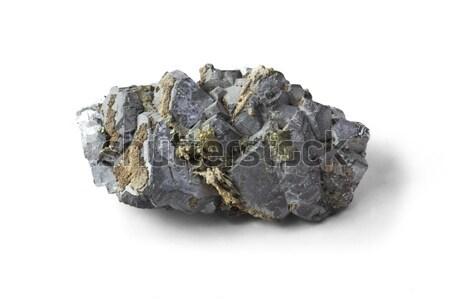 Isolado amostra mineral natureza pedra Foto stock © grafvision