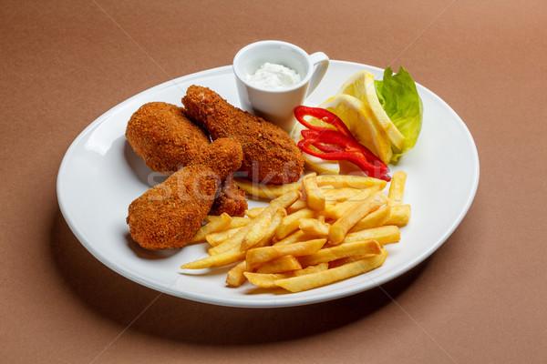 Chicken drumsticks Stock photo © grafvision
