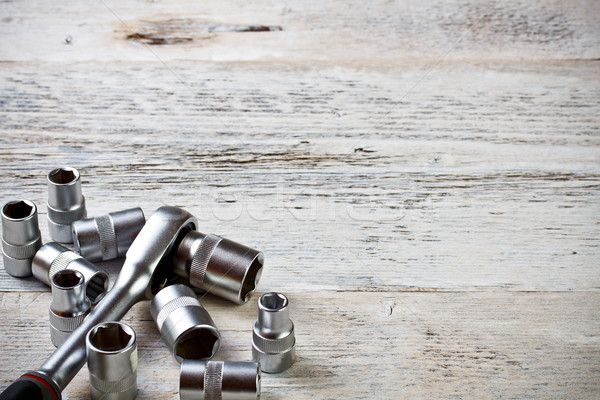Socket spanner wrench  Stock photo © grafvision