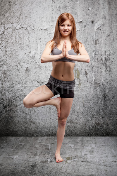 Yoga exercise  Stock photo © grafvision