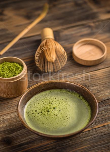 Japonés té ceremonia té verde Foto stock © grafvision