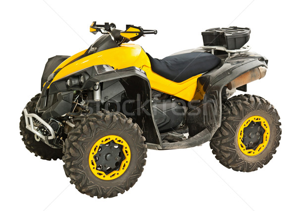 Yellow quadbike Stock photo © grafvision