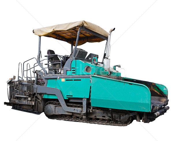 asphalt spreading machine Stock photo © grafvision