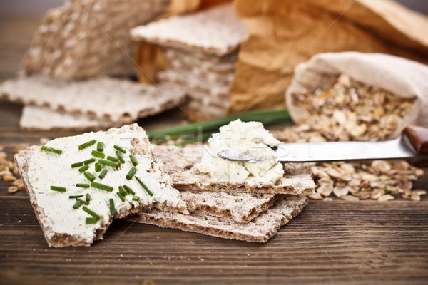 Wholemeal crispbread Stock photo © grafvision