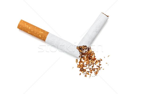Broken cigarette Stock photo © grafvision