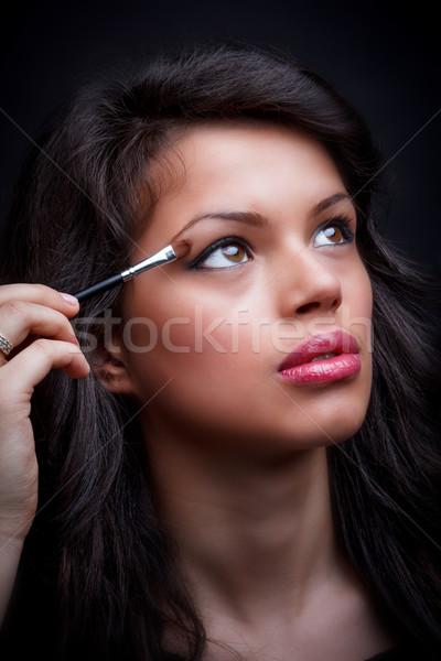 Eye makeup Stock photo © grafvision