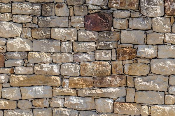 石の壁 テクスチャ 写真 都市 石 レトロな ストックフォト © grafvision