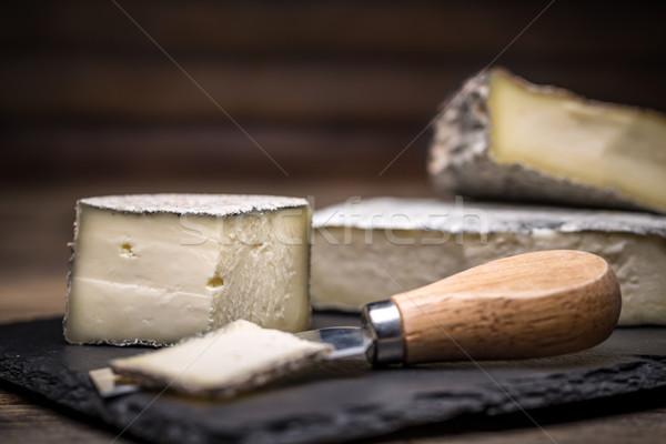 A farmstead cheese Stock photo © grafvision