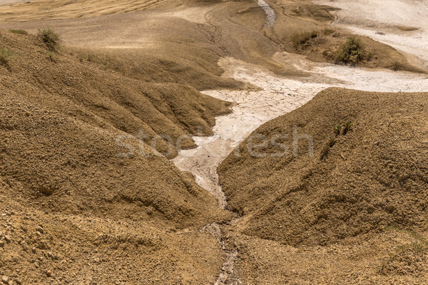 Landscape near by mud volcanoes Stock photo © grafvision