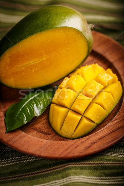 Fresco manga fruto orgânico produto Foto stock © grafvision