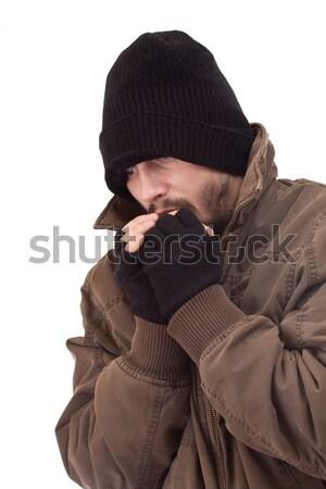 Homeless man Stock photo © grafvision
