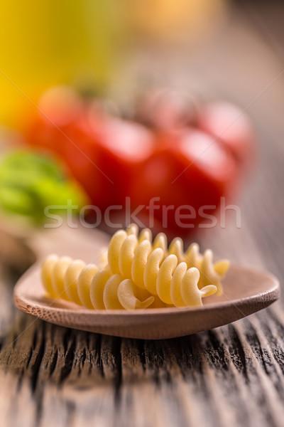 Fusilli Stock photo © grafvision