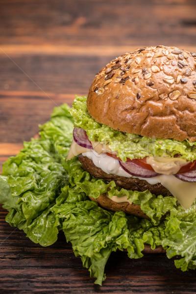 Burger  Stock photo © grafvision