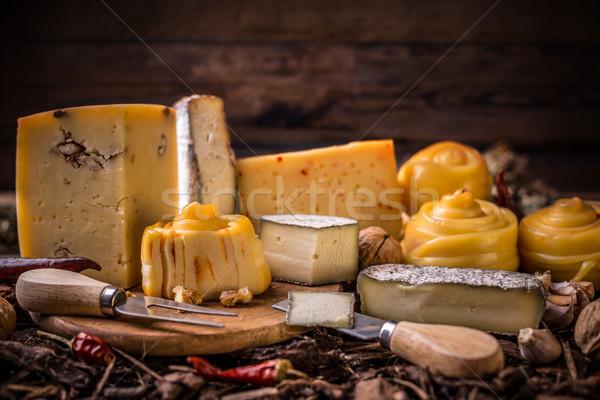 Farm made cheese Stock photo © grafvision