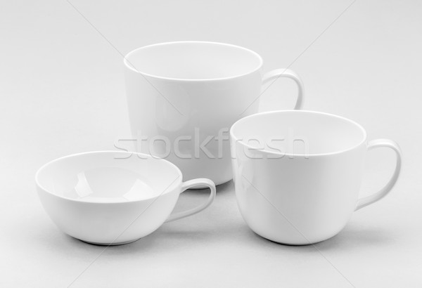 Coffee or tea cups Stock photo © grafvision