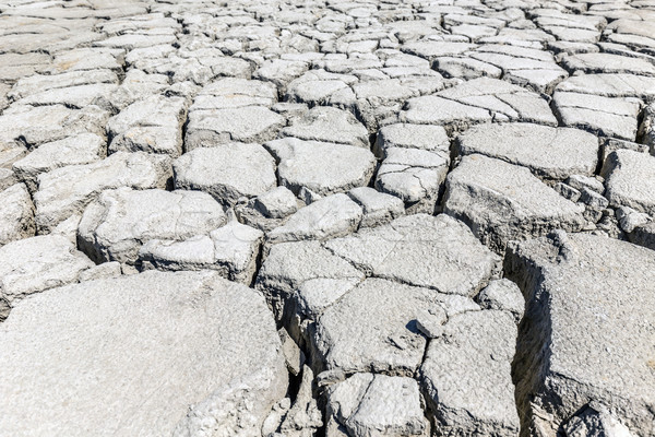 Secar rachado solo textura natureza deserto Foto stock © grafvision