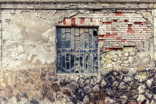 Old vintage barn wall  Stock photo © grafvision