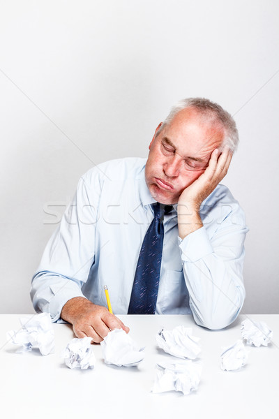 Businessman in office Stock photo © grafvision