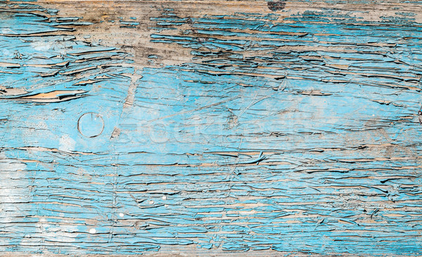 Stock photo: Old shabby wooden surface