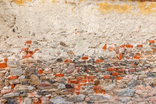 Brick and stone wall texture Stock photo © grafvision