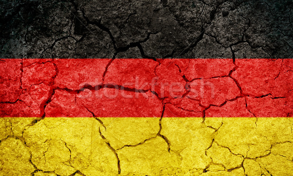 Federal Republic of Germany flag Stock photo © grafvision
