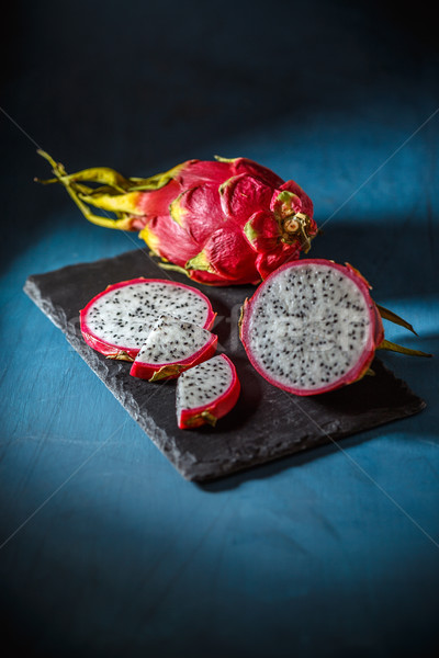 Fresh dragon fruit Stock photo © grafvision