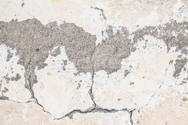 Crack pared edad vintage textura resumen Foto stock © grafvision