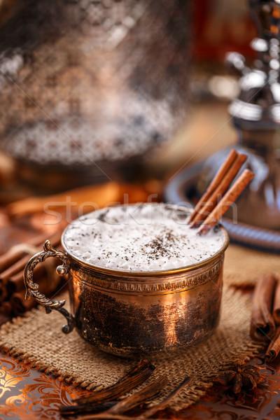 Chai tea latte Stock photo © grafvision