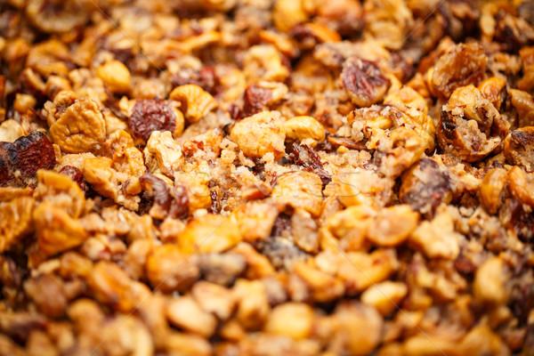 Peeled roasted chestnuts Stock photo © grafvision