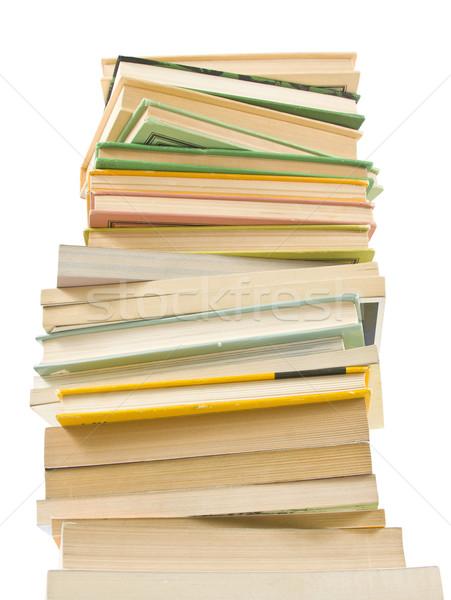 図書 孤立した 白 学校 グループ ストックフォト © grafvision